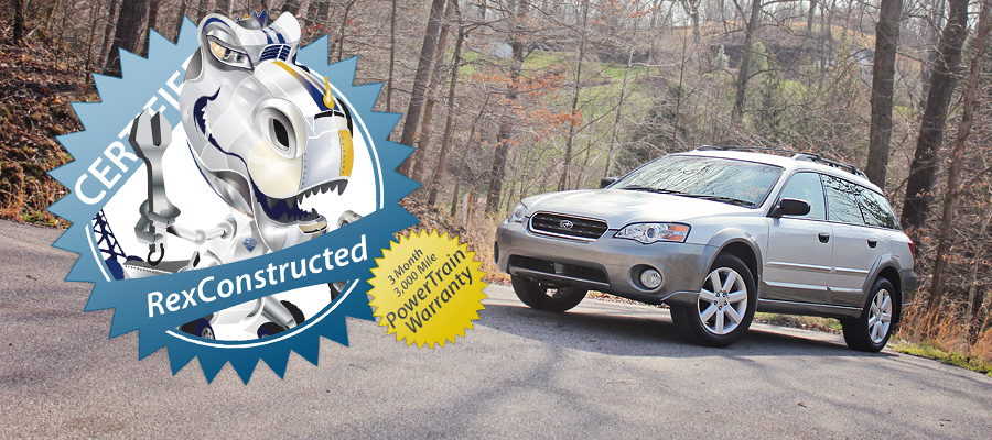 Carwrex Subaru | 3 Month, 3,000 Mile Warranty